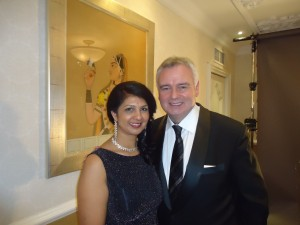 Sarbjit and Eamonn Holmes at Best Awards
