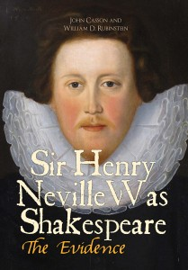 Casson Rubinstein Sir Henry Neville Was Shakespeare